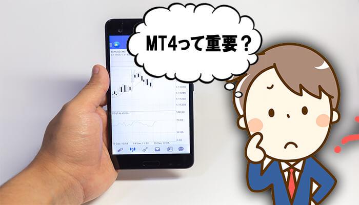 MT4を利用
